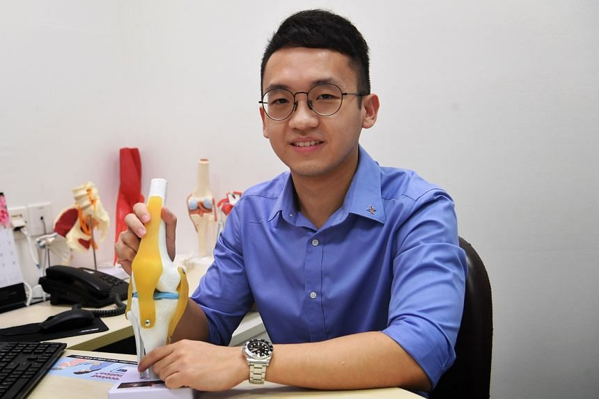 Dr Tan Jun Xiang, who was in the Normal (Academic) stream in Ang Mo Kio Secondary School, now works in NUH.