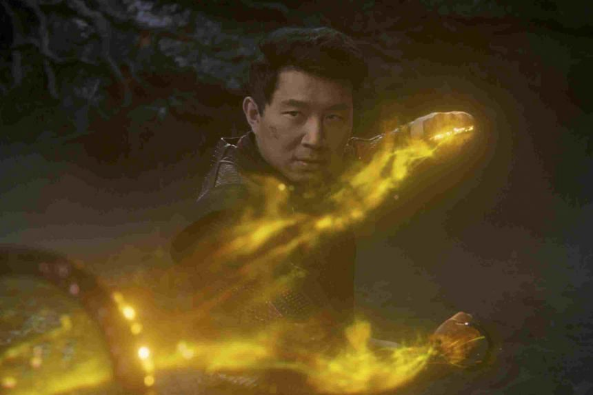 Simu Liu stars in the film Shang-Chi And The Legend Of The Ten Rings.