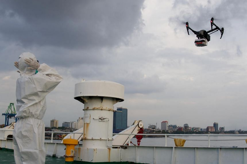The Makassar Recover Drone Medic team is working with the local coronavirus task force to deliver medicine at least five times a day, said its founder and coordinator.