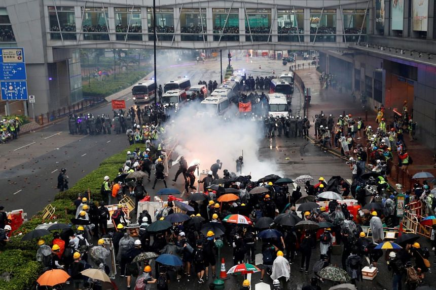 Tens of thousands took to the streets in anti-government protests in 2019 and police fired tear gas and water cannon to disperse them.