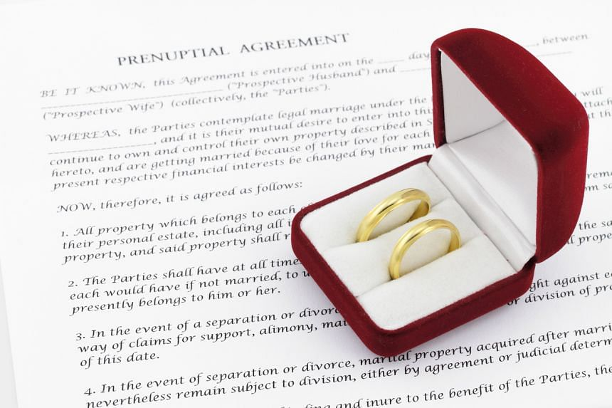 """In their prenuptial agreement, they had agreed to """"protect their separate property from claims from each other if they separate""""."""