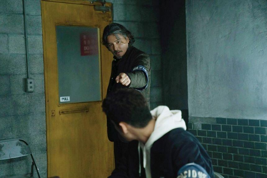 Christopher Lee in Danger Zone.