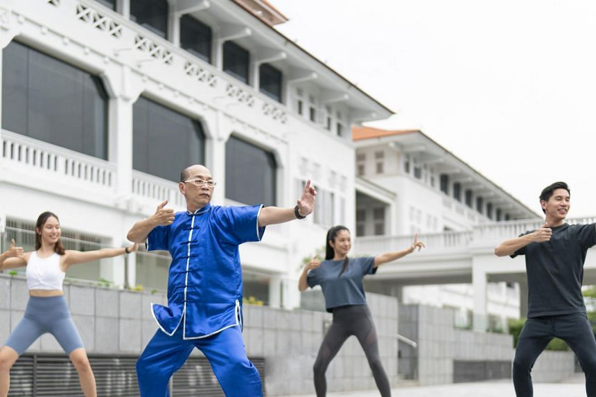On the itinerary are daily fitness activities like sunrise qigong sessions conducted by local partner fitness studios.