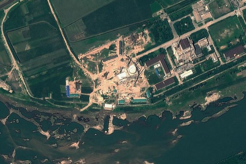 A file satellite handout image provided by GeoEye  and taken on Aug 6, 2012, shows the Yongbyon Nuclear Scientific Research Centre in North Korea.