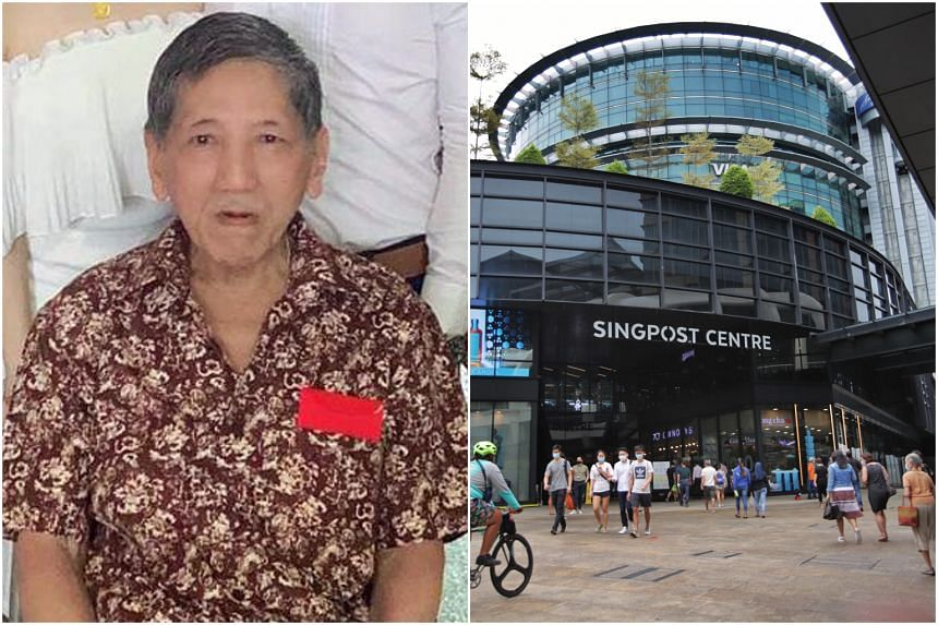 Mr Soh Eng Thong's body was found in a stairwell at SingPost Centre.