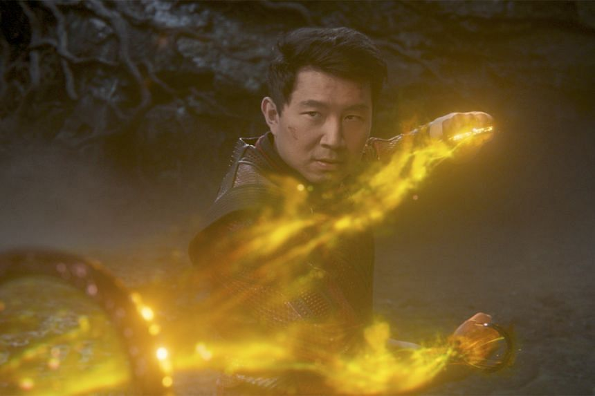 Simu Liu in Shang-Chi and the Legend of the Ten Rings.