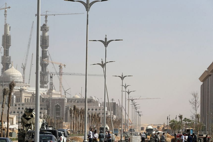 Egypt's new capital is being built from scratch in the desert and is designed to hold 6½ million residents.