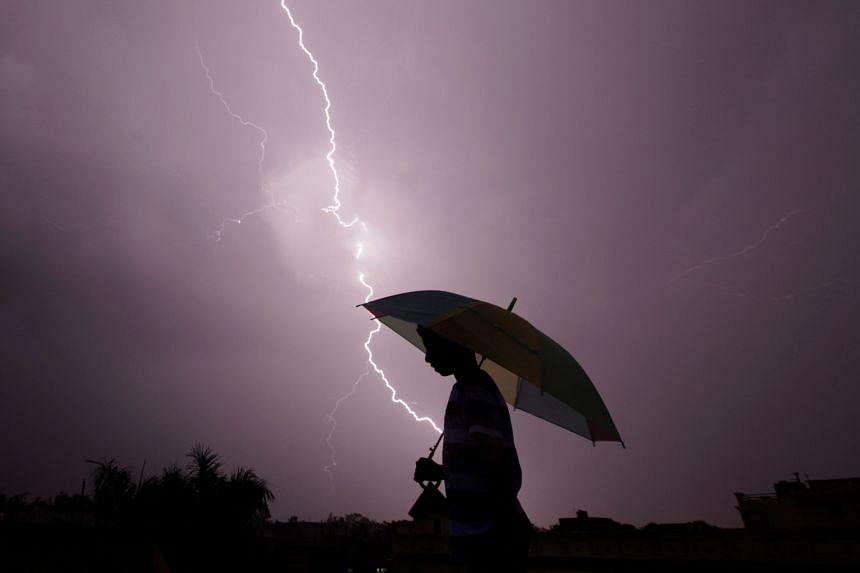 Around 2,500 people die in lightning strikes around India each year.