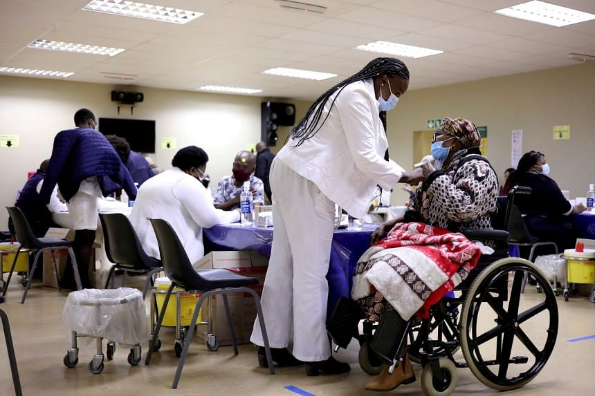 The announcement came with Africa struggling to immunise its people against Covid-19.