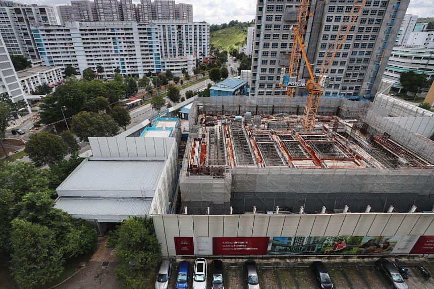 The affected project, Sky Vista @ Bukit Batok.