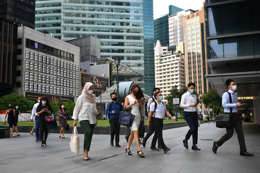 Regional and global roles make up 40 per cent of jobs in the financial sector.