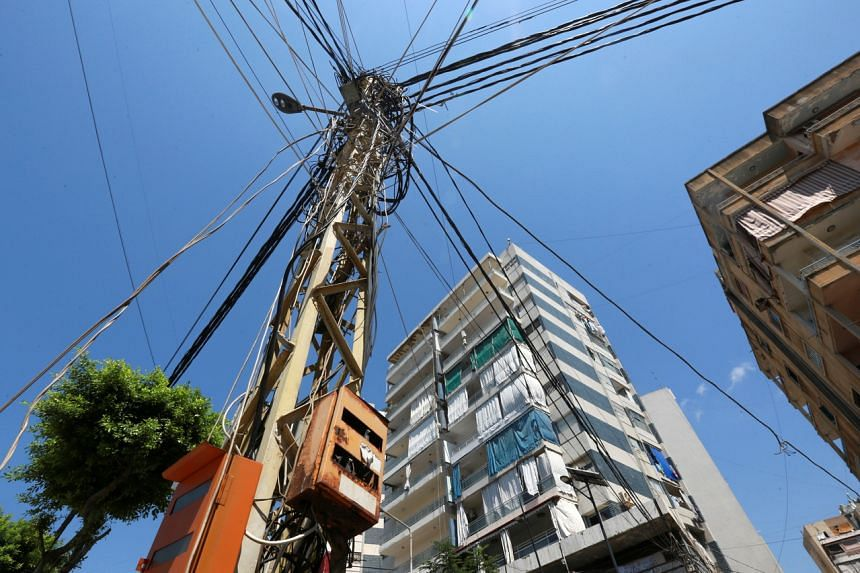 Lebanon has prolonged power cuts that now last as long as 22 hours per day.