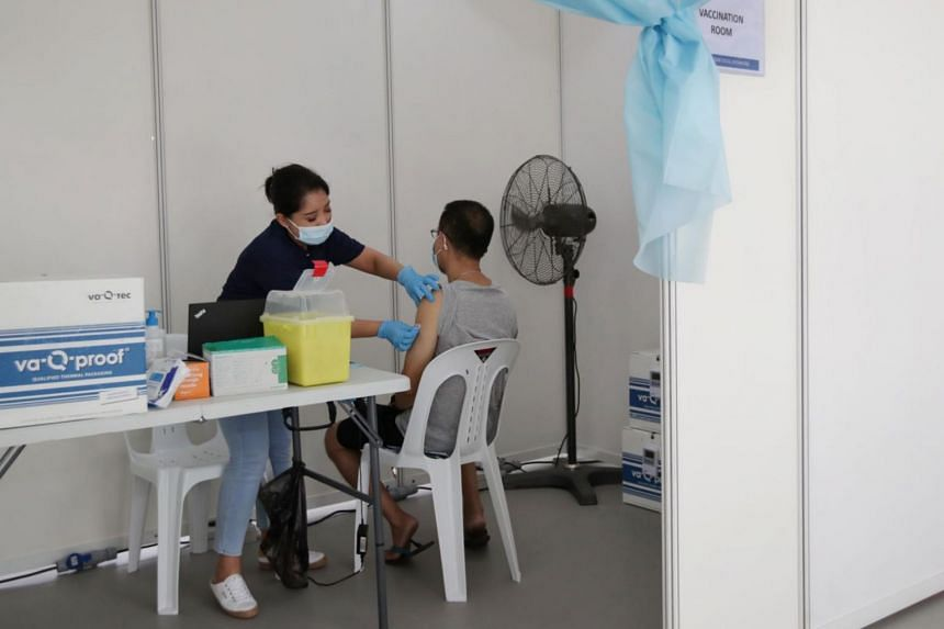 The strength of vaccine protection will come down as antibodies wane several months after the vaccination, said Health Minister Ong Ye Kung.