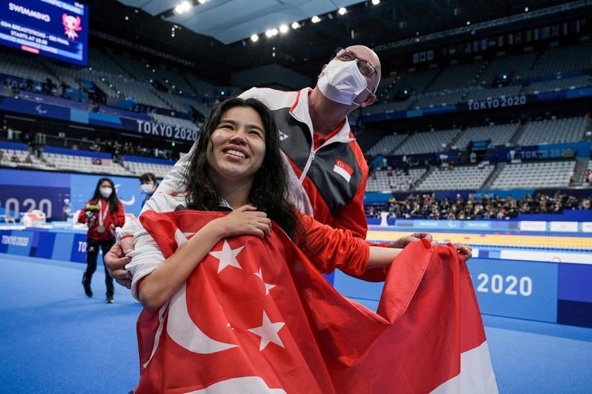 Swimmer Yip Pin Xiu's two golds meant this was the country's best showing after Rio 2016.