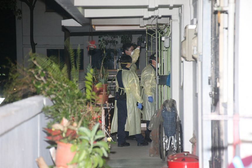 The body of a 74-year-old woman was found inside her flat in Bedok on Sept 4, 2021.