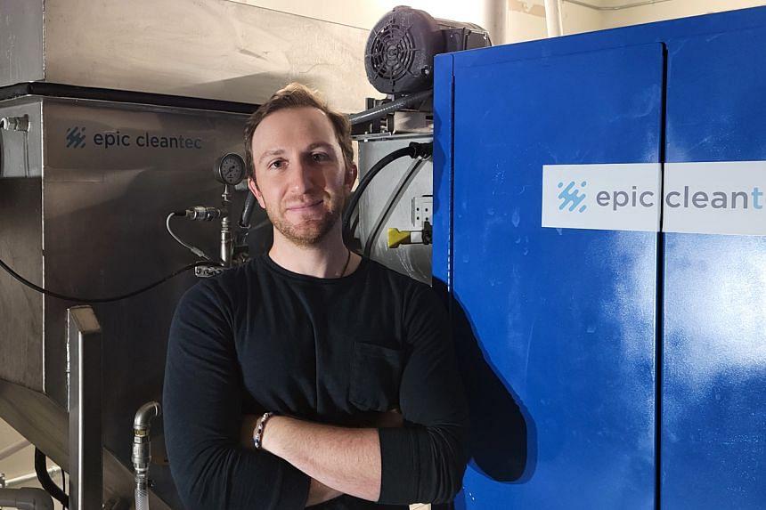 Entrepreneur Aaron Tartakovsky is the co-founder of Epic Cleantec.