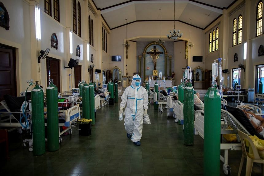 Total coronavirus infections in the Philippines breached two million this month.