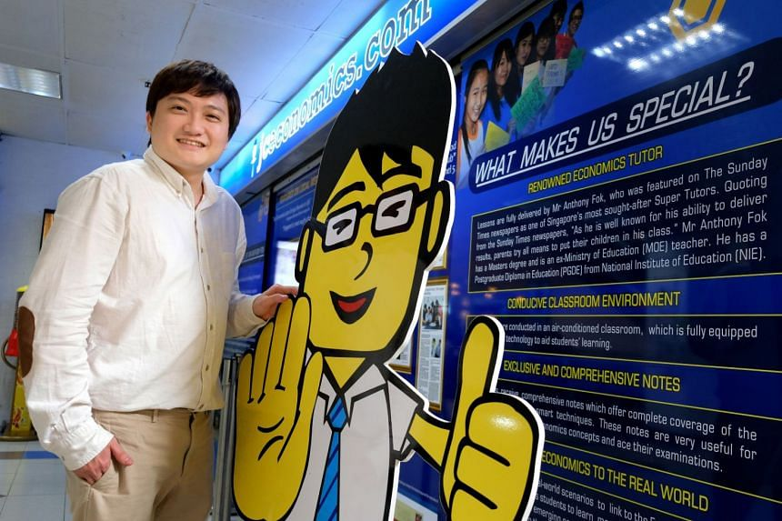 Dr Anthony Fok (pictured), together with the tuition company he founded, JC Economics Education Centre, and his publishing company, had sued rival economics tutor Edmund Quek and his tuition outfit Economics Cafe Learning Centre for defamation over s
