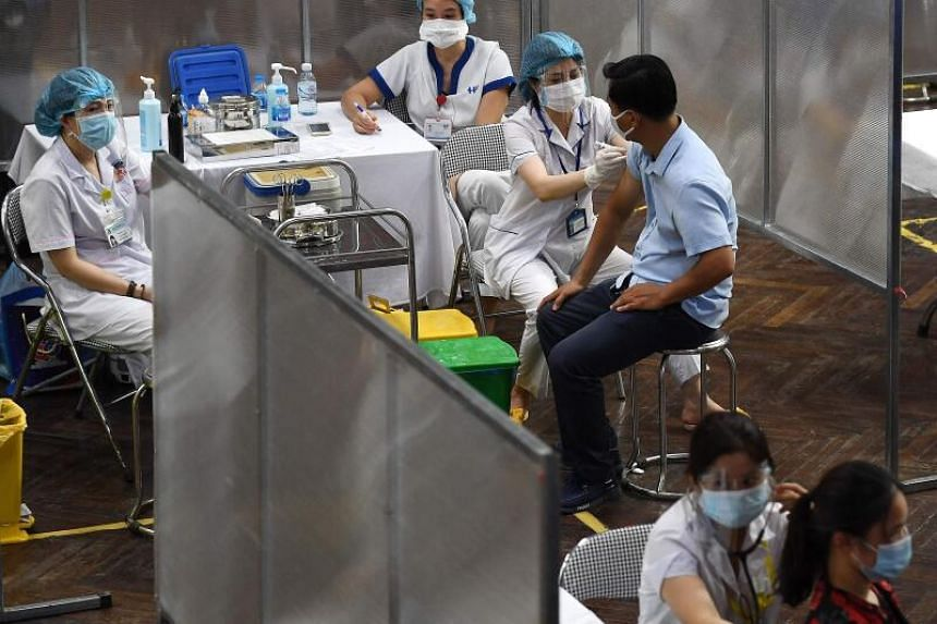 Vietnam has one of the lowest coronavirus vaccination rates in the region.