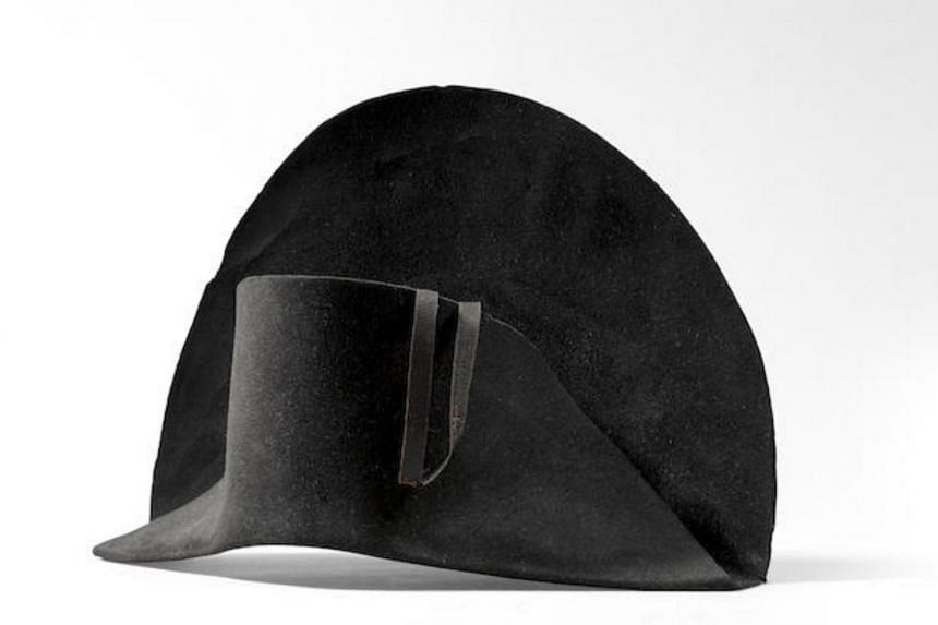 The estimated price for the hat is between £100,000 (S$185,840) and £150,000.