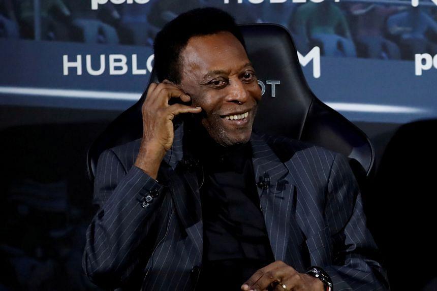 Pele was undergoing routine examinations in Sao Paulo's Albert Einstein Hospital when a health issue was detected.