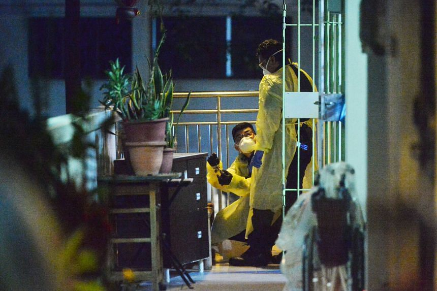 A 74-year-old woman was found dead in her flat at Block 514 Bedok North Avenue 2 on Sept 4, 2021.