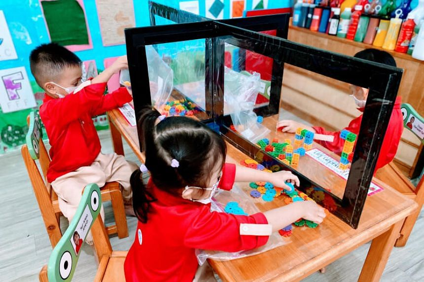 Ilham Child Care shared that a diverse class benefits children without special needs, such as nurturing their socio-emotional skills.