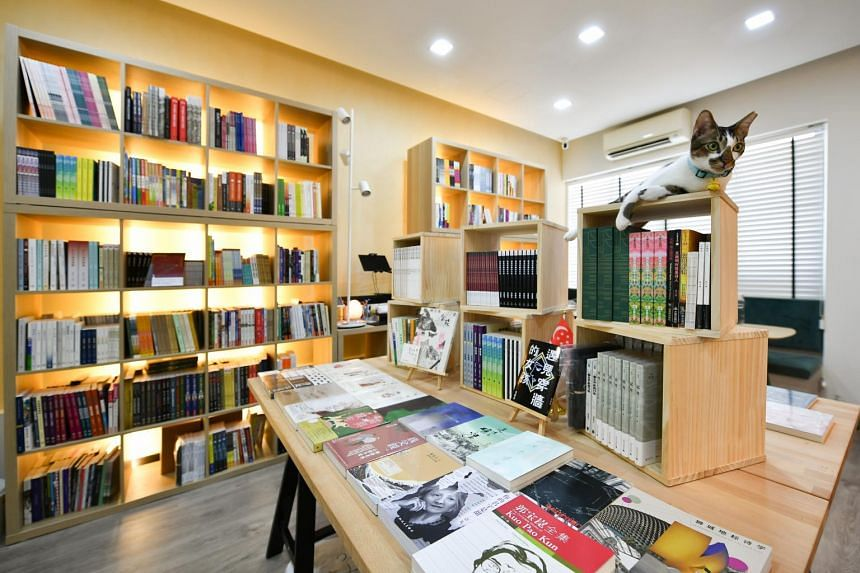 The books range from home-grown reads to titles from Malaysia, Taiwan, Hong Kong and China.