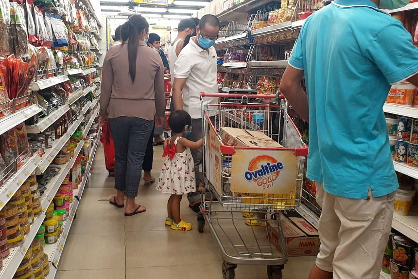 The announcement of a state of emergency by Duwa Lashi triggered panic buying in Yangon.