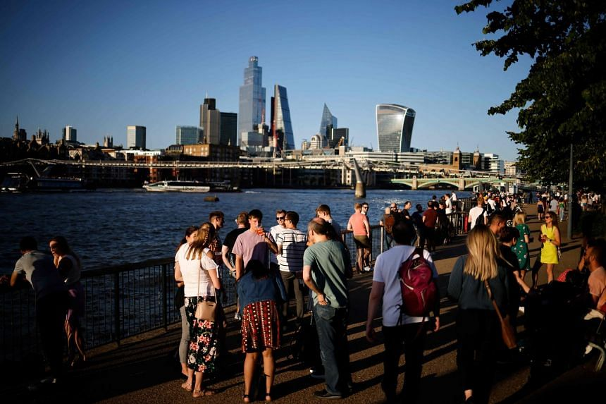 Britain's departure from the European Union effectively closed London off from its biggest financial services customer.