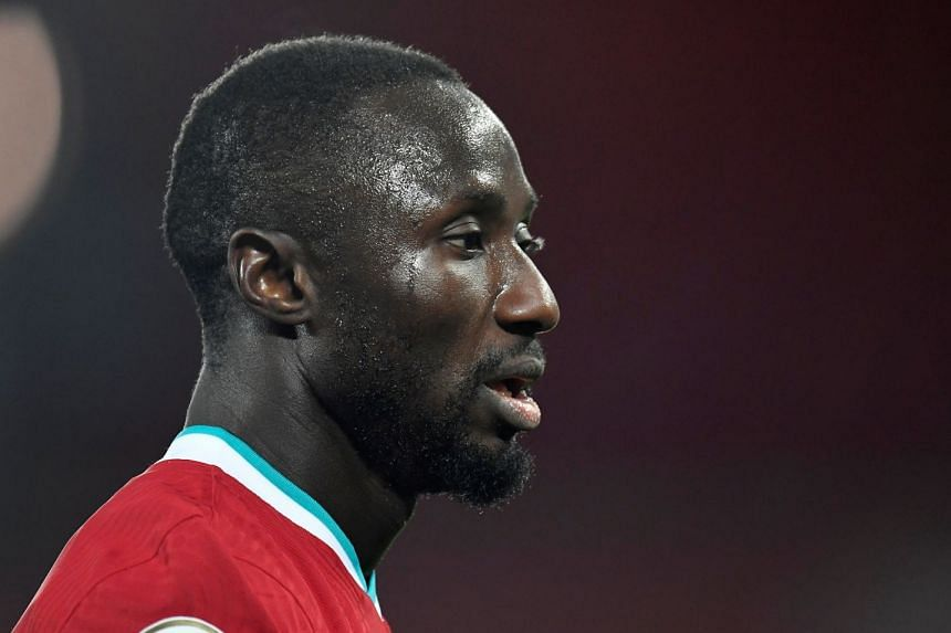 Liverpool had said they were working with relevant authorities to bring Naby Keita (above) safely back to Britain.