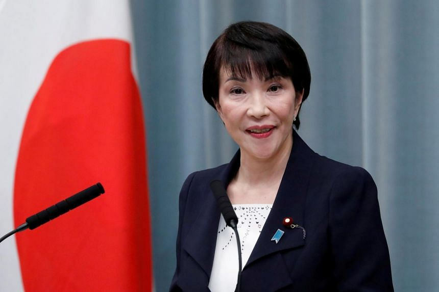 Ms Sanae Takaichi became the first female internal affairs minister in the second Abe administration in 2014.