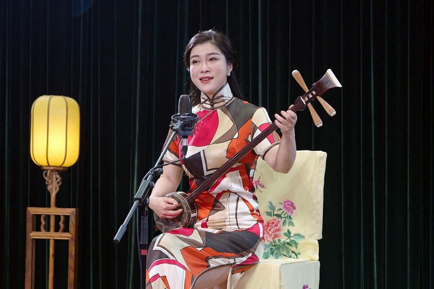 There are digital programmes like The New Mulan Ballad, a recorded performance by Lu Jinhua of the renowned Shanghai Pingtan Troupe.