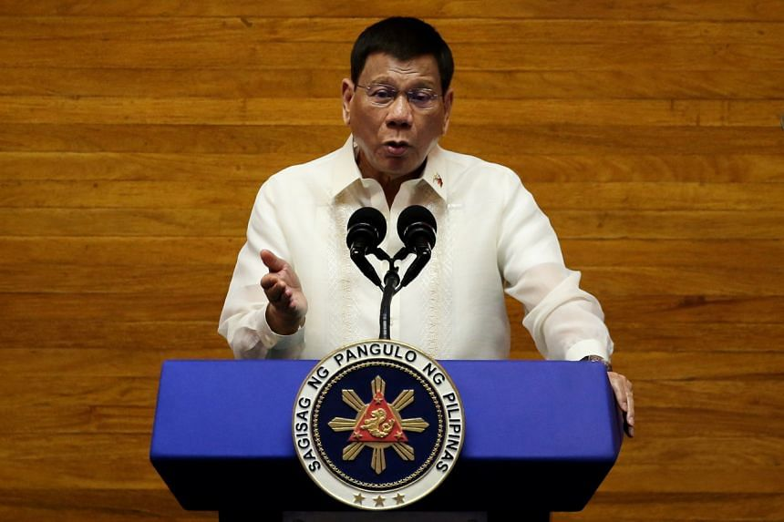Philippine President Rodrigo Duterte is barred by the Constitution from seeking a second term as president.