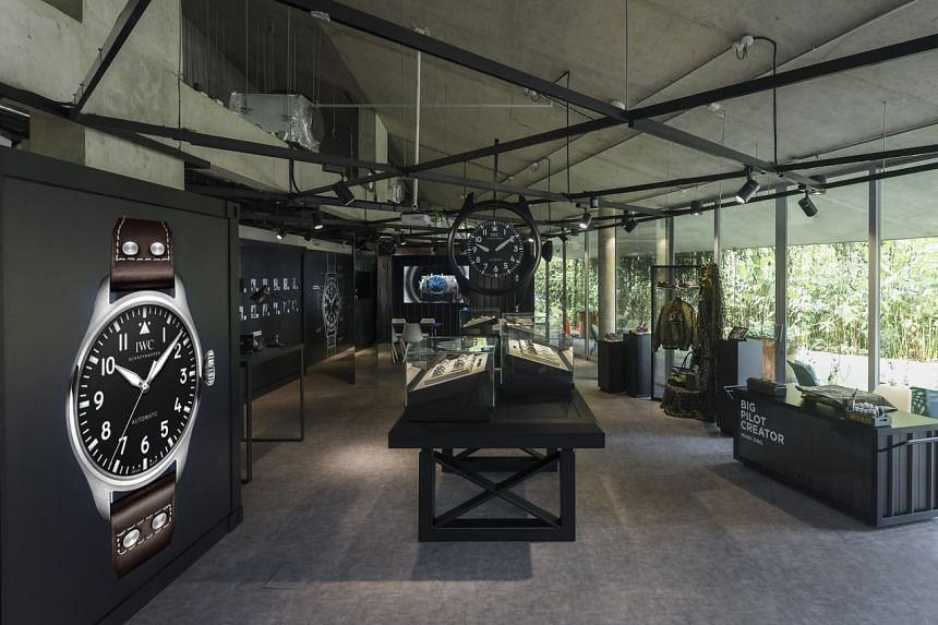 This is the first time so many Big Pilot models have been taken out from the IWC Museum in Schaffhausen.