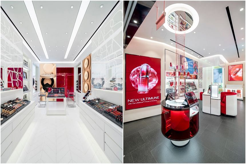 Both Nars and Shiseido at Jem mark each brand's second free-standing store in Singapore.