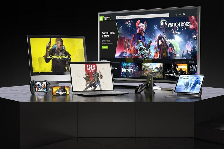 GeForce Now is from graphics processor maker Nvidia and made available to consumers through StarHub.