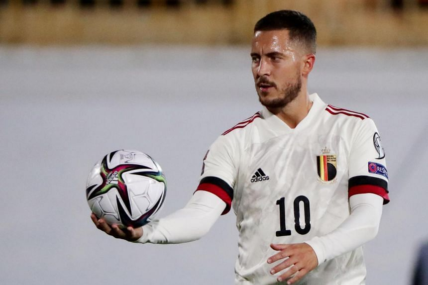 Eden Hazard has been beset by injuries since moving to Real Madrid from Chelsea.
