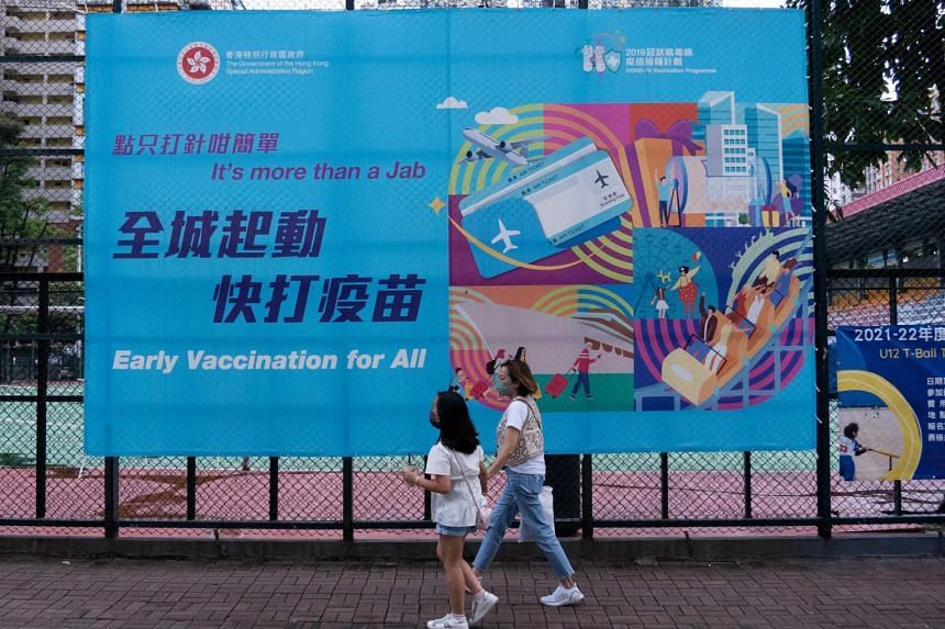 Around 3.37 million Hong Kong residents have been fully vaccinated under a government inoculation programme.