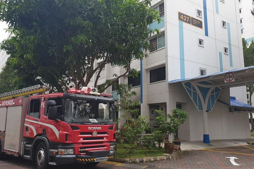 The police evacuated around 10 residents from other units in the second to the sixth floors.