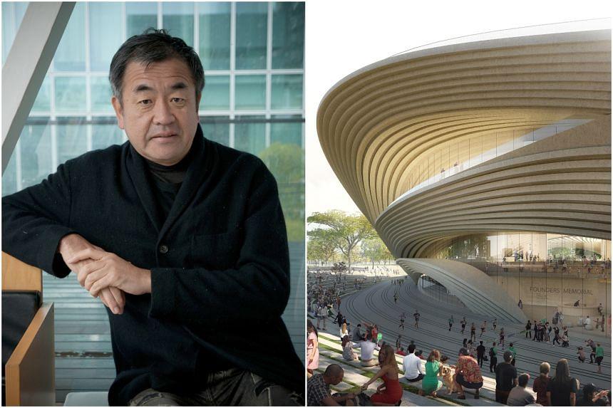 Kengo Kuma has designed more than 300 groundbreaking landmarks around the world.