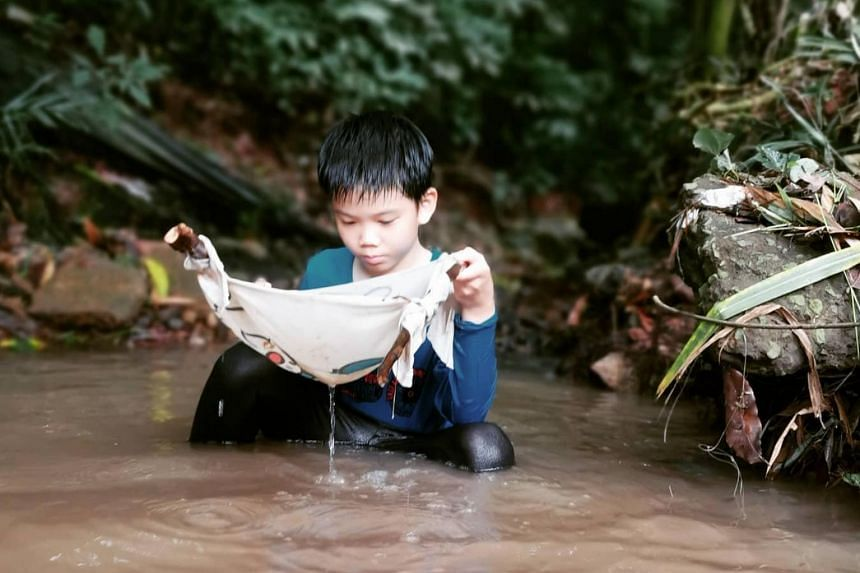 Children will have the opportunity to fish for guppies with one of the programme partners, Longkang Adventures.