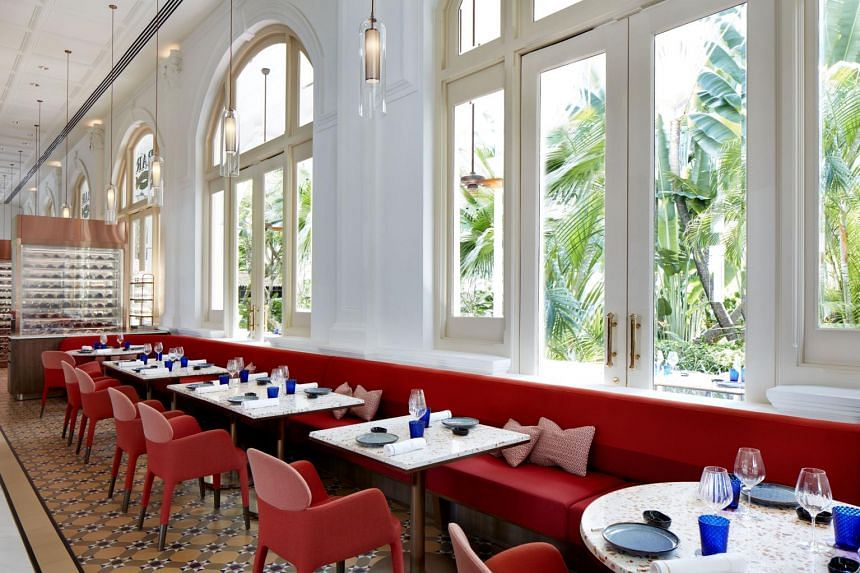 Osteria BBR by Alain Ducasse offers an extensive menu of Italian fare.