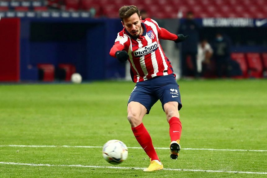 Local media reported that Chelsea had signed Saul Niguez for €40 million (S$63.3 million).