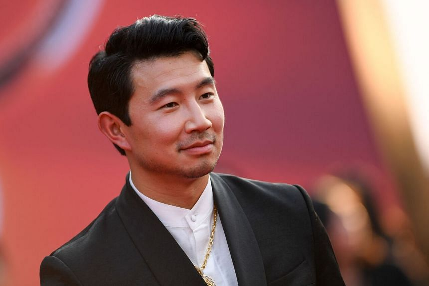 Simu Liu rose to fame recently after starring in the Marvel superhero movie in which he plays the titular character.