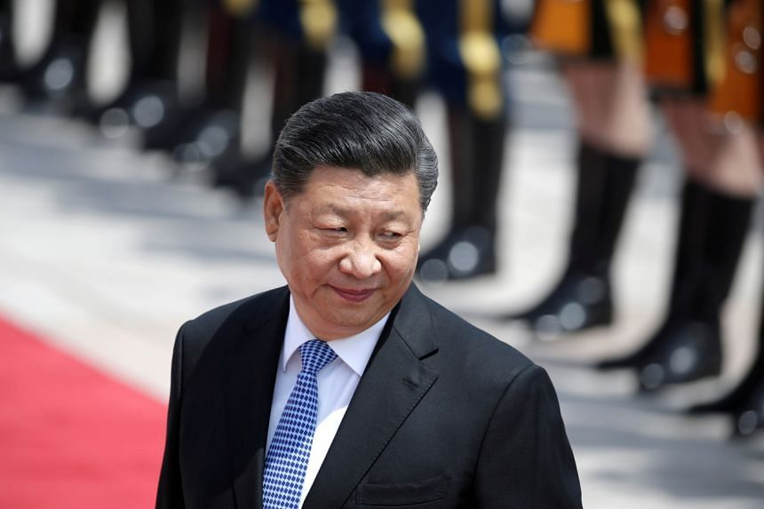China hopes to work with Germany and the international community towards peace and stability in Afghanistan, Mr Xi Jinping said.