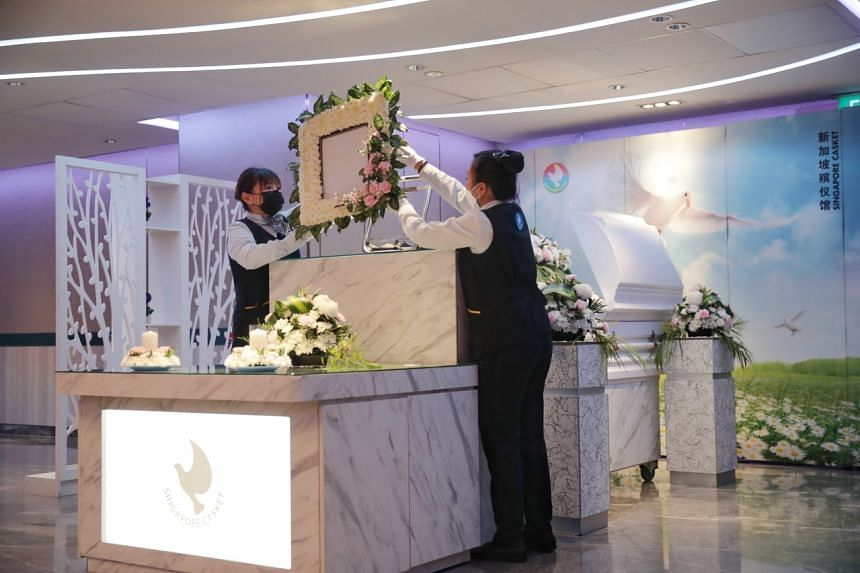 Singapore Casket's assistant general manager said cases of the elderly dying alone are unpredictable.
