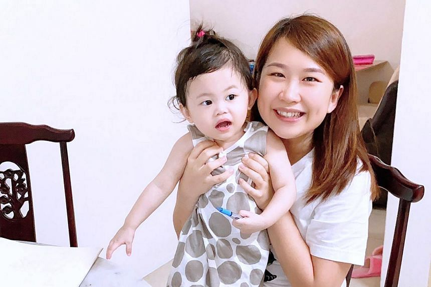 Ms Natalie Boon quit her job as an asset manager in Singapore and flew to Ipoh to be with her daughter Micaela, whom she had last seen in the flesh in March 2020.