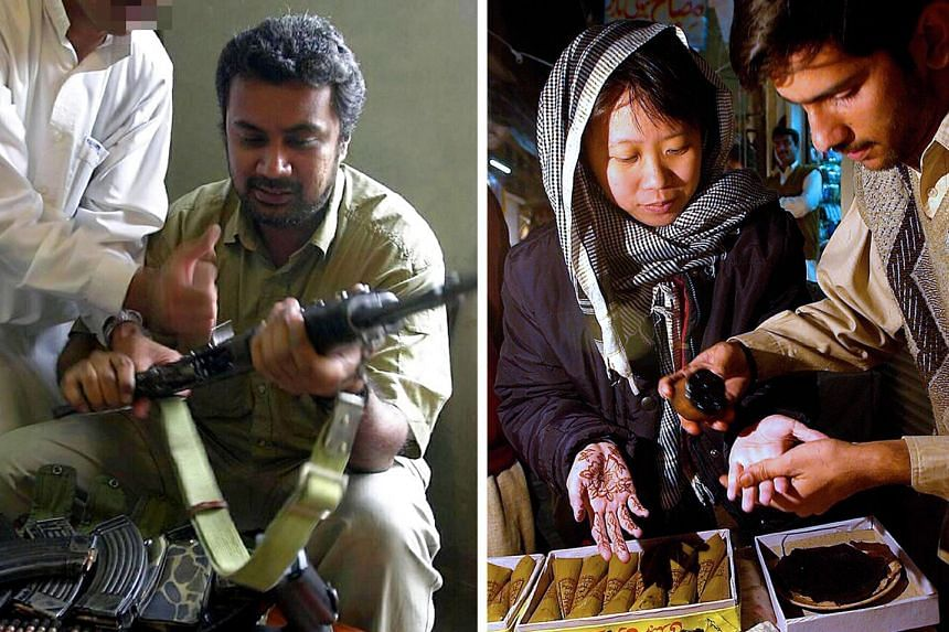 In this special episode, Mr Melvinderpal Singh (left) and Ms Seto Nu-Wen (right), recall their trips to Afghanistan back in 2001, soon after the attacks.