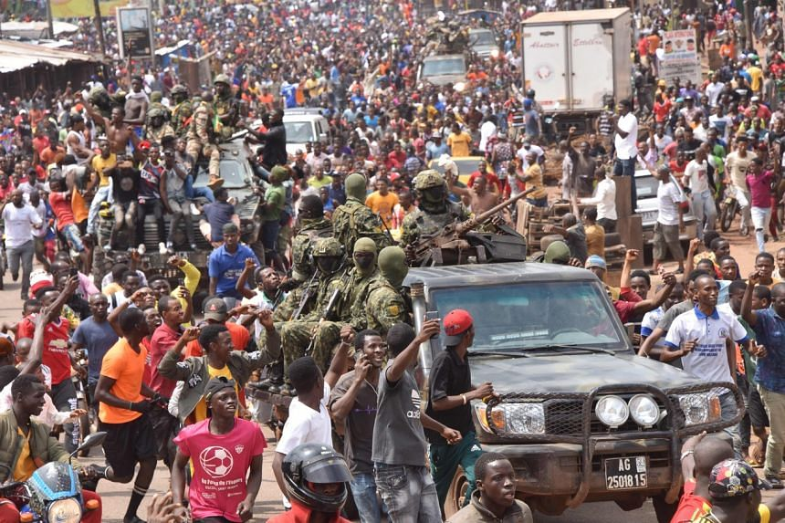 The coup in Guinea fueled worries of democratic backsliding in a coup-prone region of Africa.